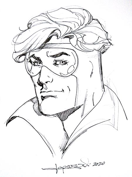 Booster Gold by Aaron Lopresti for Cort Carpenter
