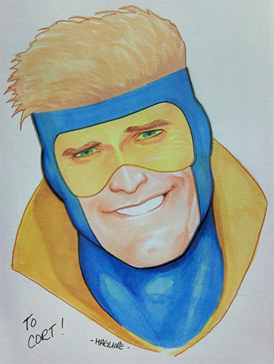Booster Gold by Kevin Maguire