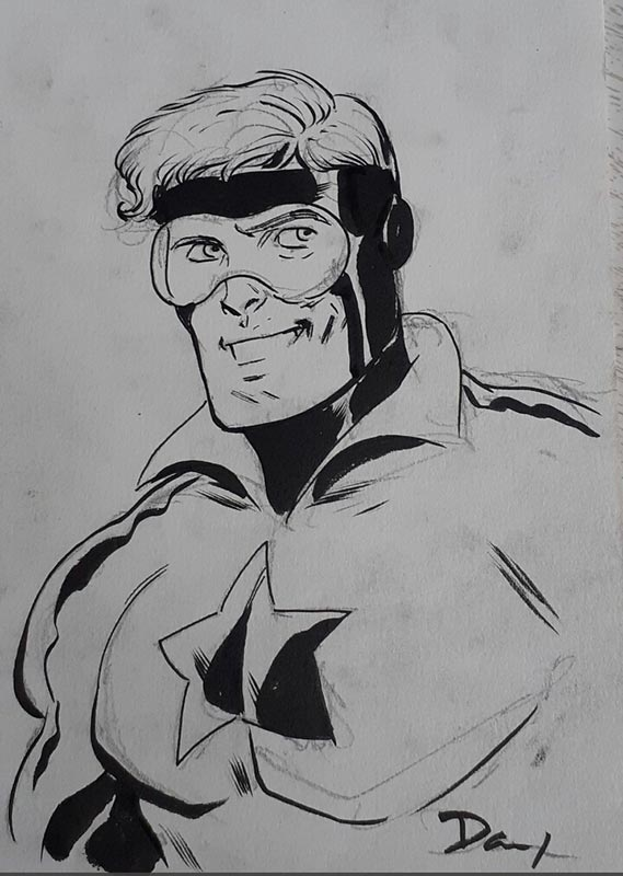 Booster Gold by Dan McDaid for Cort Carpenter
