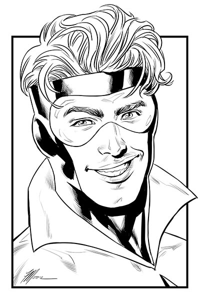 Booster Gold by Travis G. Moore for Cort Carpenter