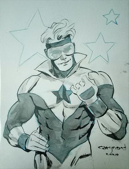 Booster Gold by Cary Nord