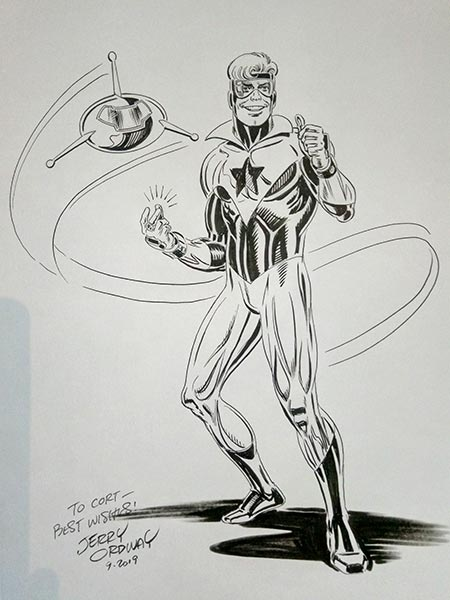 Booster Gold by Jerry Ordway