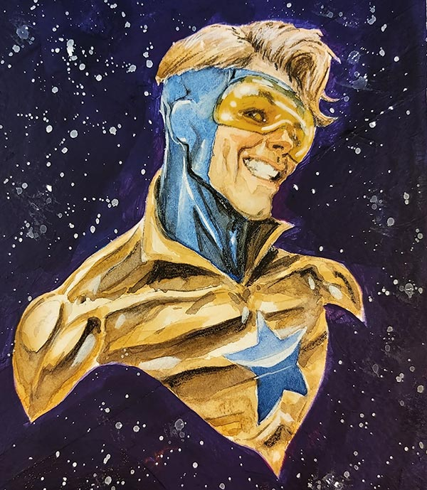 Booster Gold by Richard Pace for Cort Carpenter