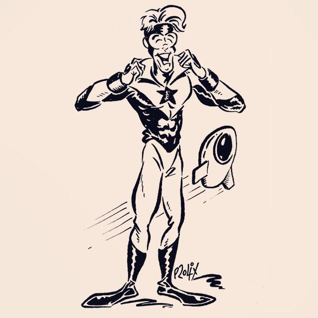 Booster Gold by Nick Prolix for Cort Carpenter