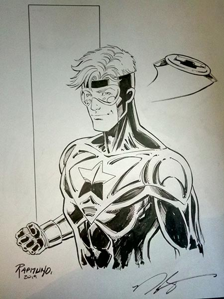 Booster Gold by Norm Rapmund
