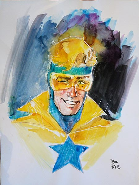 Booster Gold by Rod Reis for Cort Carpenter