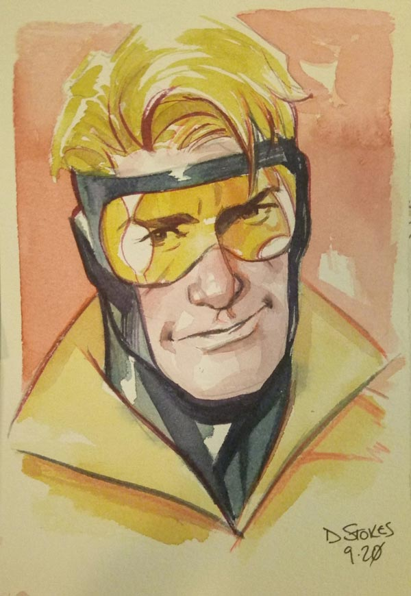 Booster Gold by Dave Stokes for Cort Carpenter