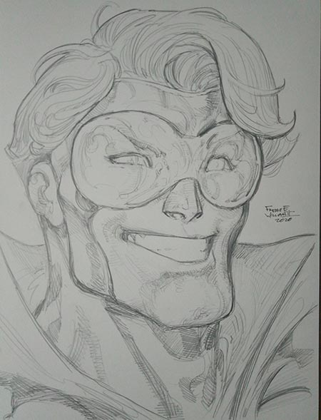 Booster Gold by Freddie Williams III