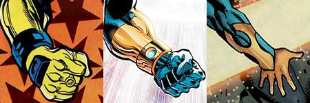 Booster Gold's gloves