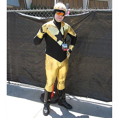 Booster Gold, Anime Expo in 2006