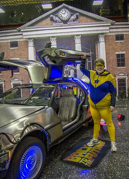 Booster Gold at the Chicago ComicCon