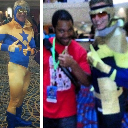 JLI cosplay at DragonCon 2013 by dr_archeville and _nerdyblackkid