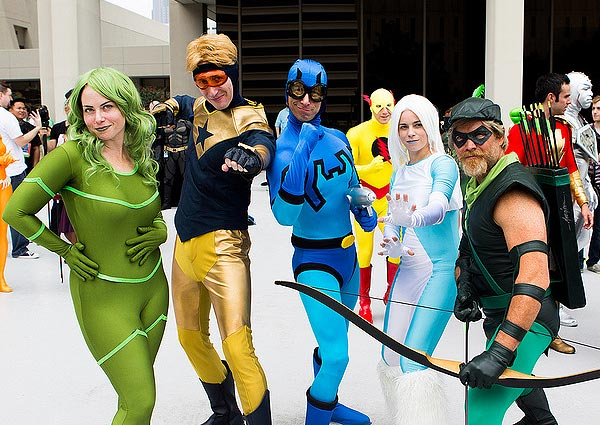 JLI cosplay at DragonCon 2013 by PatLoika