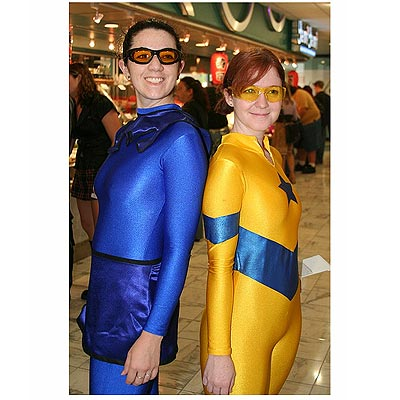 Blue Beetle and Booster Gold, DragonCon 2006