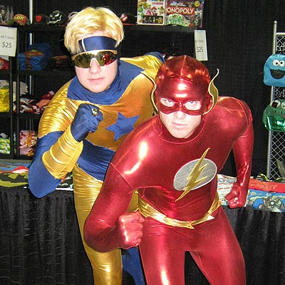 Booster Gold at Calgary Comics and Entertainment Expo 2011