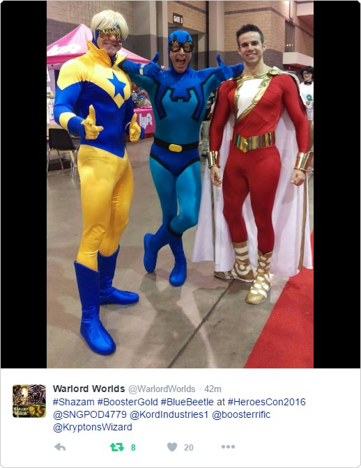Heroes Con cosplay pic by Warlord Worlds