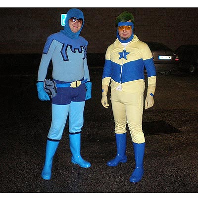 Blue Beetle and Booster Gold 2007