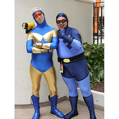 Blue Beetle and Booster Gold, DragonCon 2009