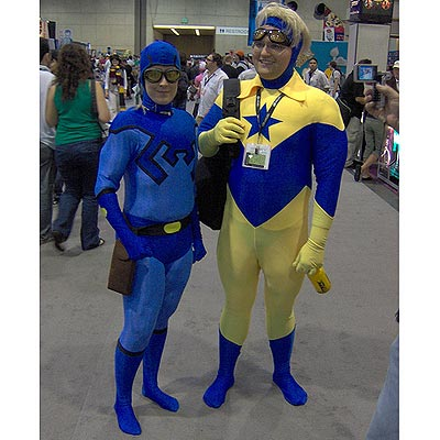 Blue Beetle and Booster Gold, Comic Con 2006