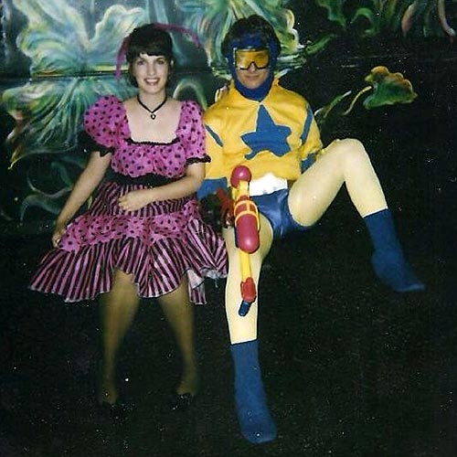Pat Nestor as Booster Gold, Halloween 1990