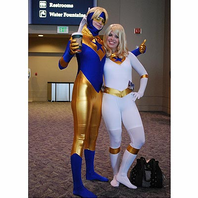 Booster Gold at Emerald City Comic Con 2011