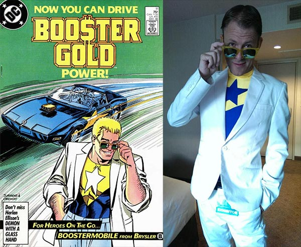 Osyrus as Booster Gold