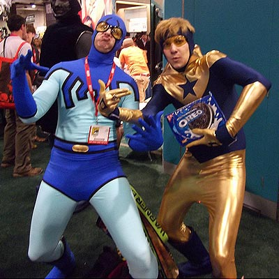 Booster Gold at SDCC 2010 by Pat Loika