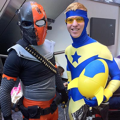 Booster Gold at Wondercon 2011