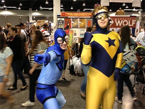 Booster Gold cosplay from WonderCon 2013 by Cameron Heffernan