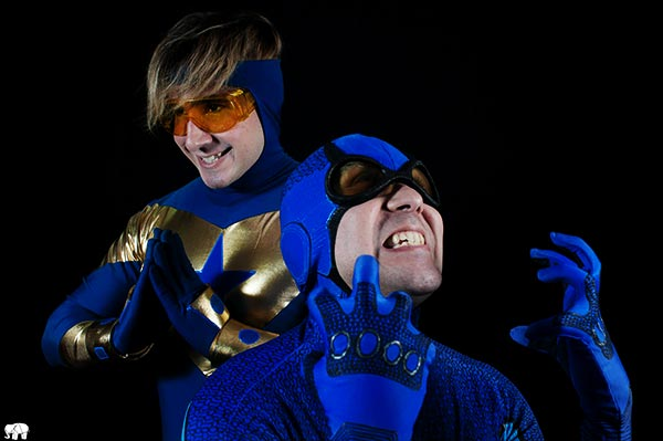 Blue Beetle & Booster Gold by Iebo Vox