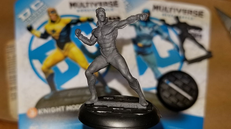 Knight Models DC Universe Miniature Game Booster Gold