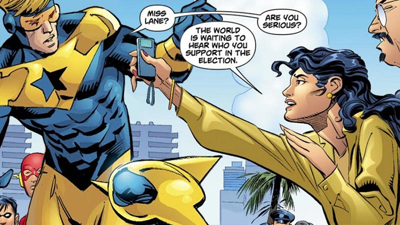 This panel does not appear in DC Universe: Decisions #3 (2008)