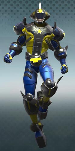 Booster Gold Iconic Armor in DC Universe Online