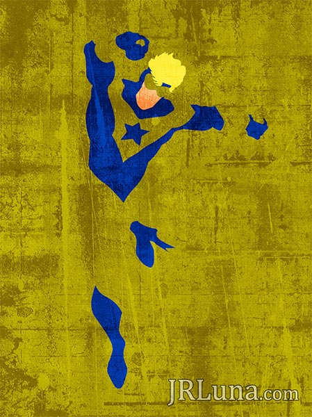 Booster Gold poster by JRLunaArt