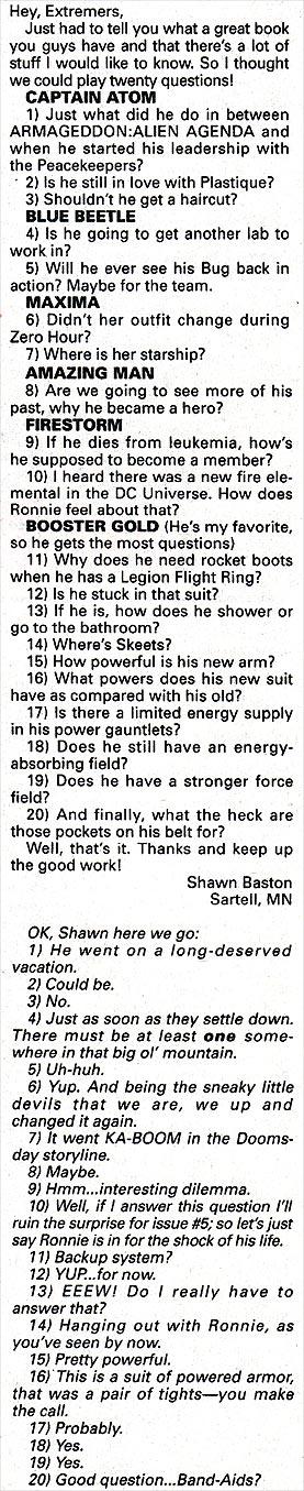Twenty Extreme Questions with Shawn Baston
