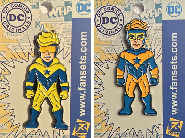 Fansets Booster Gold pins