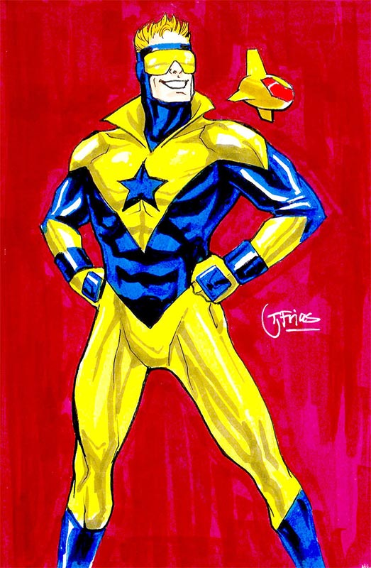 Booster Gold by Guinnesssyde at DeviantArt.com