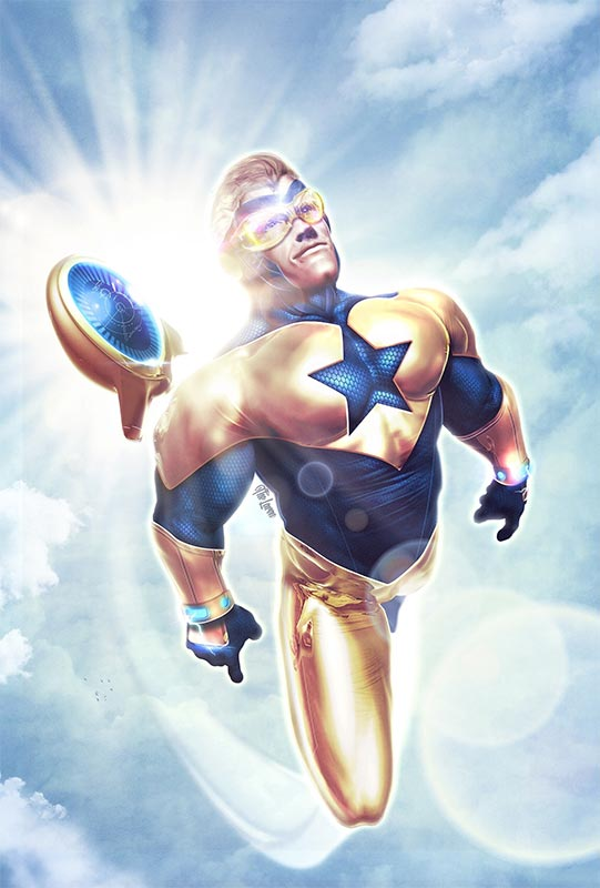 Booster Gold by Hal Laren