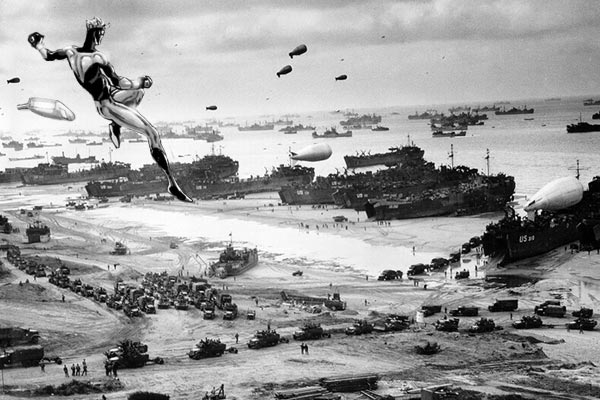 Allied invasion of Normandy on June 6, 1944