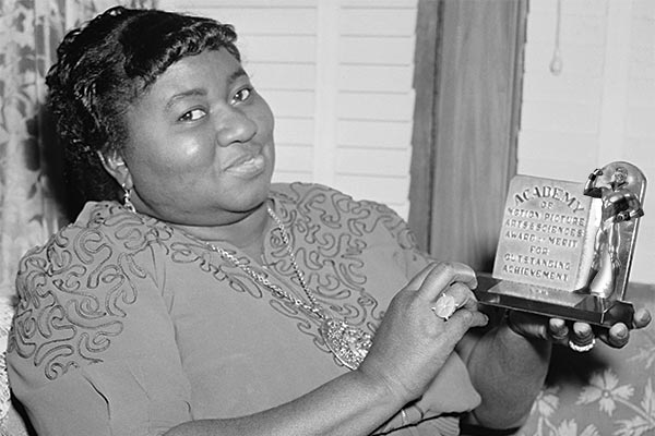Hattie McDaniel wins the (Booster) Gold this day in 1940