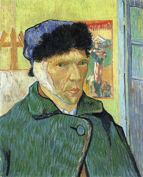 Vincent van Gogh cut off his own ear in 1888
