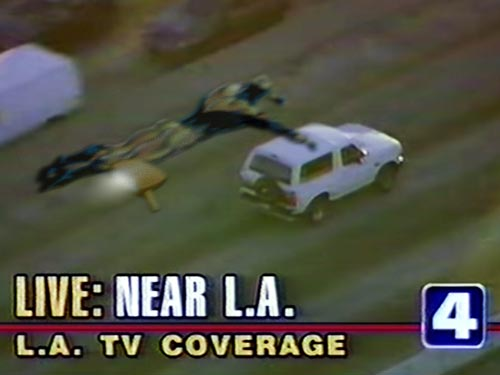A white Bronco took over L.A. on June 17, 1994