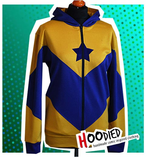 Booster Gold custom hoodie by Hoodied