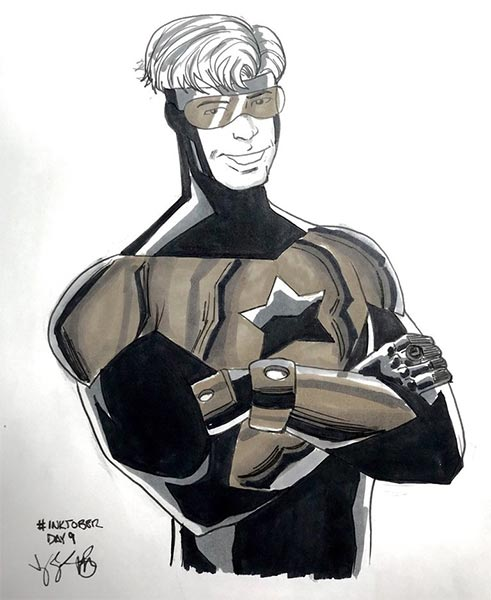 Booster Gold by monkeygeek on DeviantArt
