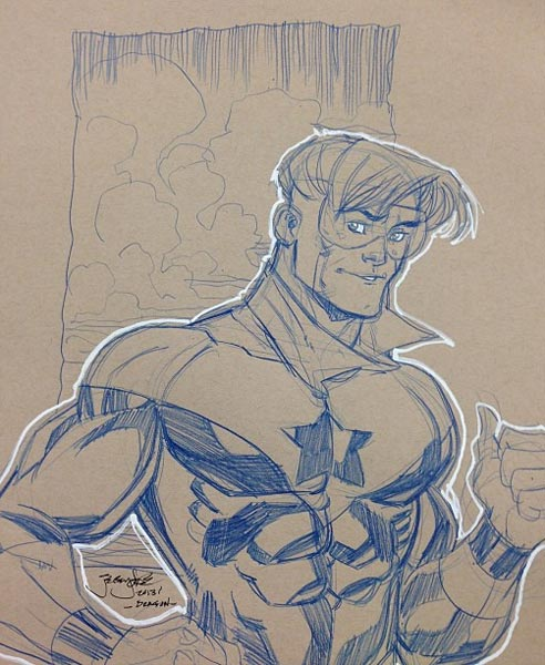 Booster Gold by Jeremy Dale