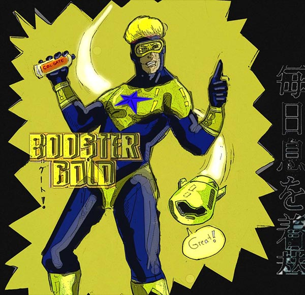 Booster Gold by Fendando via DeviantArt.com