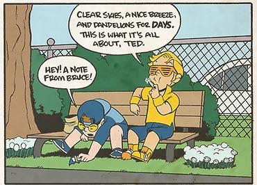 JL8 Comic #160 by Yale Stewart
