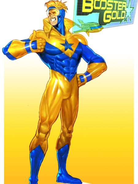 Booster Gold in Justice League: Earth's Final Defense
