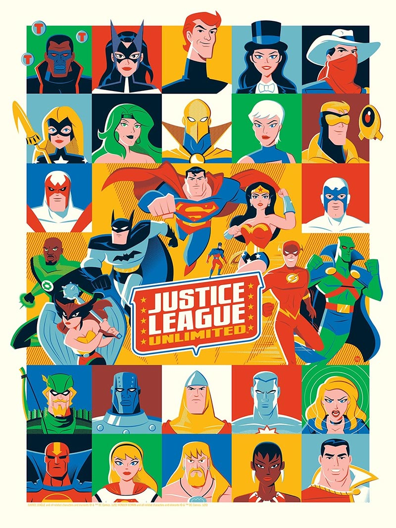 Justice League Unlimited by Grey Matter Art