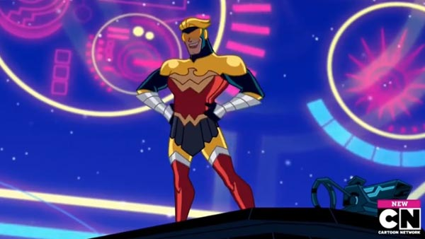 Justice League Action episode Phased and Confused